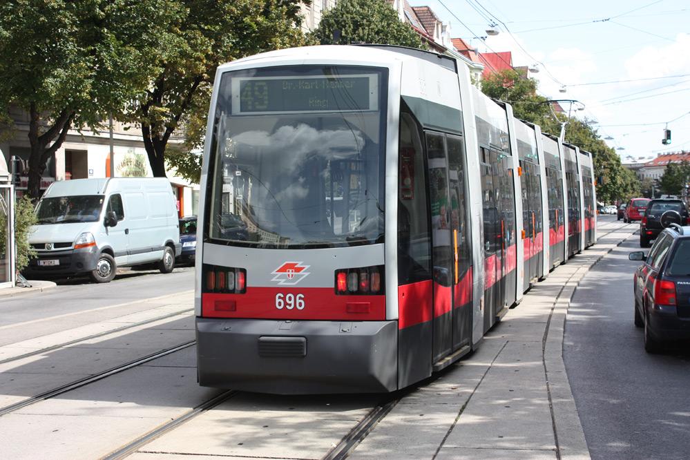 Ulf Straßenbahn Tram In Vienna Wien