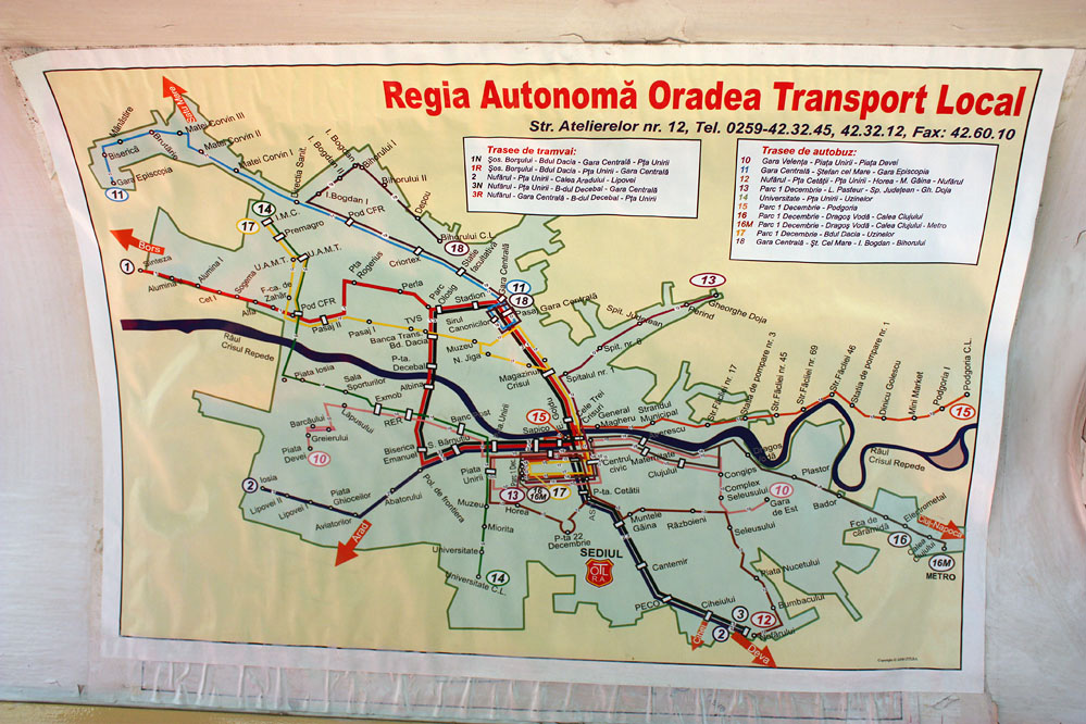 Oradea Growardein Nagyvrad tram